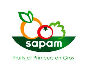 Logo sapam - Fruits et Primeurs en gros